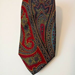 ROBERT TALBOTT Men's Silk Ancient Madder Necktie